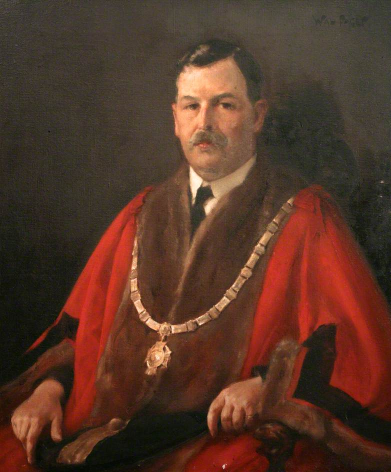 Henry Osborne Grenfell, MRCS, Mayor of Saltash (1922)