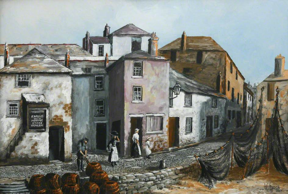 Quay Street, St Ives, 1900