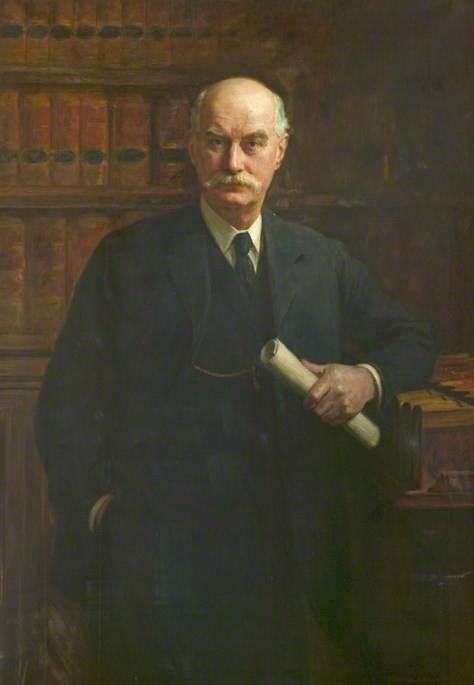 Norton Joseph Hughes-Hallett (1854–1938), Clerk to Derbyshire County Council