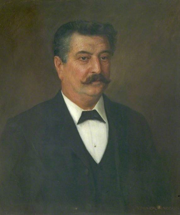 William Edwin Harvey (1852–1914), MP for North East Derbyshire (1907–1914), Founder Member and Treasurer of the Derbyshire Miners' Association