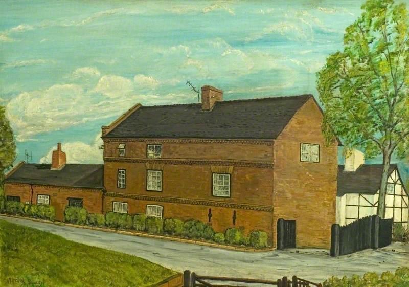 Little Hallam Hall, Ikleston, Derbyshire