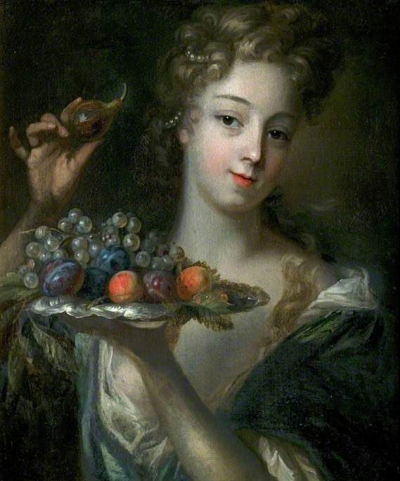 Portrait of a Young Woman as Ceres