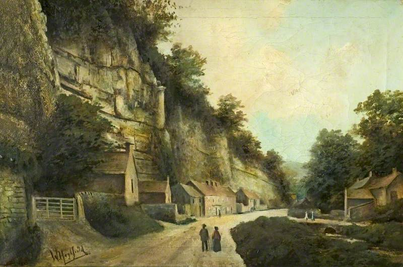 Lovers Leap, Eyam, Derbyshire, Looking East