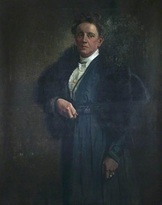 Mrs Harriet Jackson, née Martin (1857–1938)