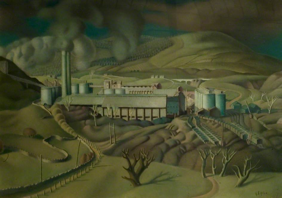 Industrial Landscape, Hope Valley, Derbyshire