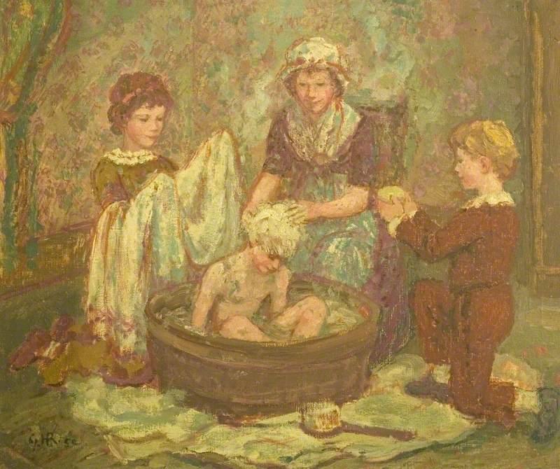 Sammy's Bath
