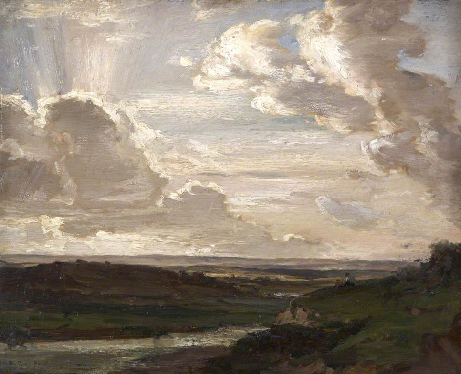 Evening over the Isles of Purbeck, Dorset
