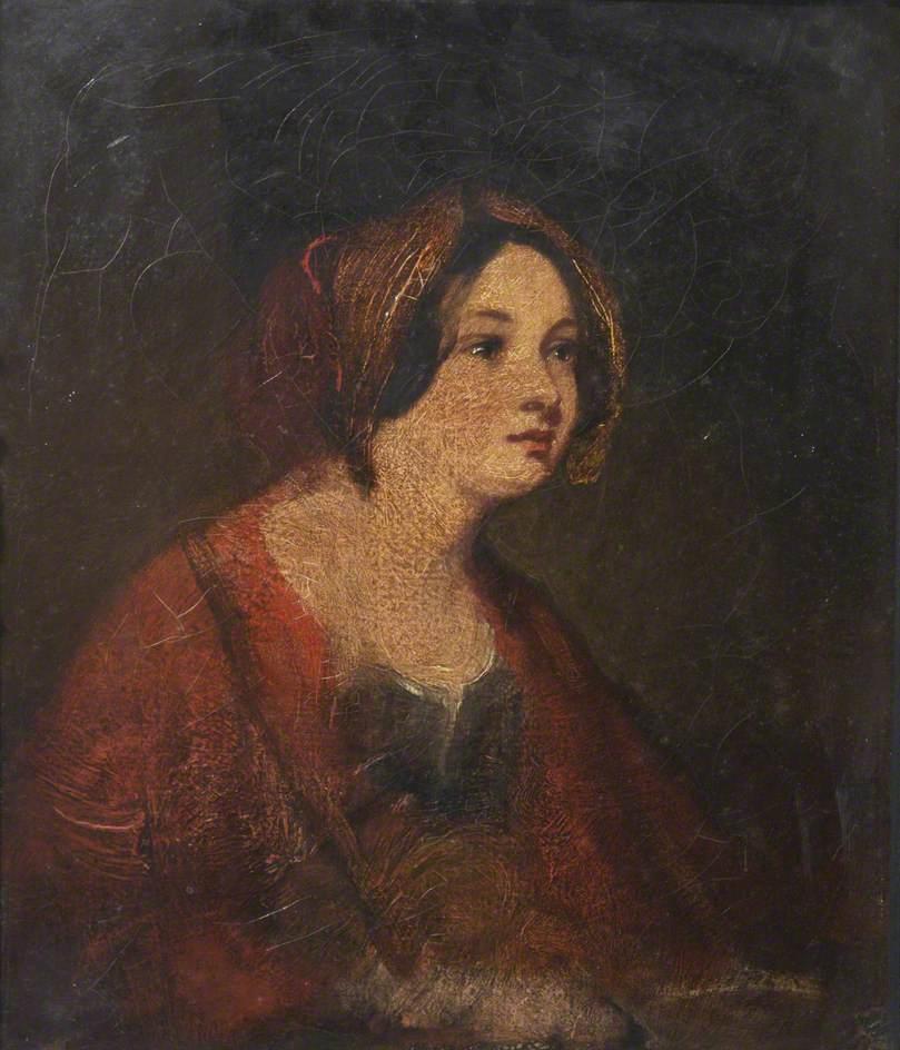 A Girl in a Red Cloak