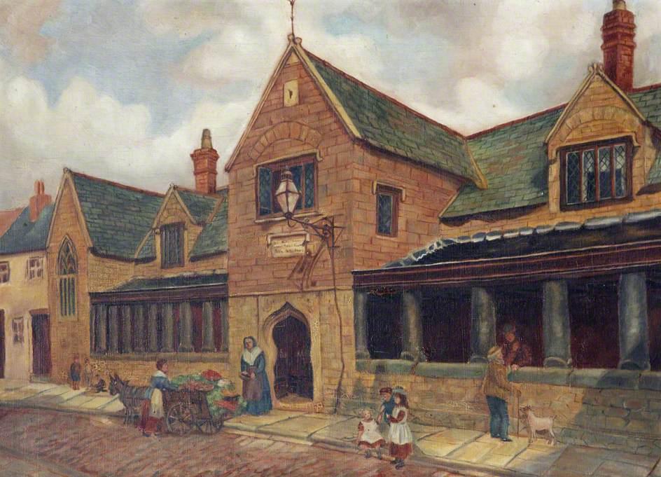 Penrose Almshouses, Litchdon Street, Barnstaple, Devon
