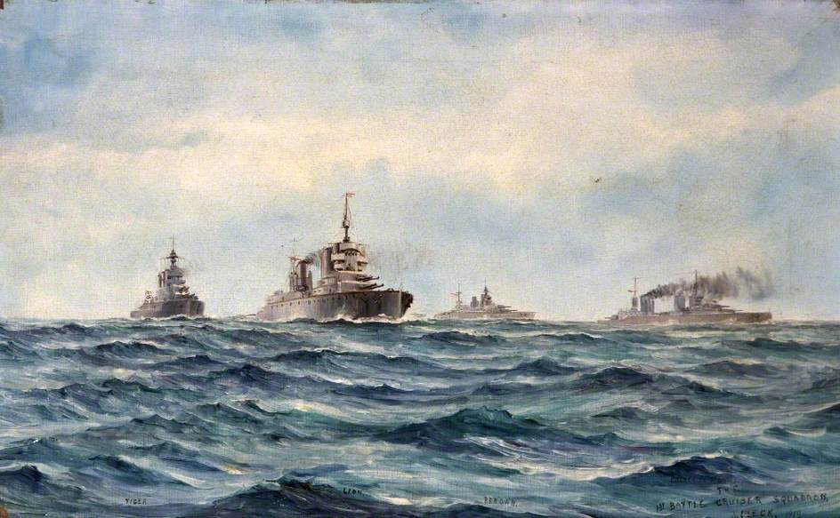 The First Battle Cruiser Squadron