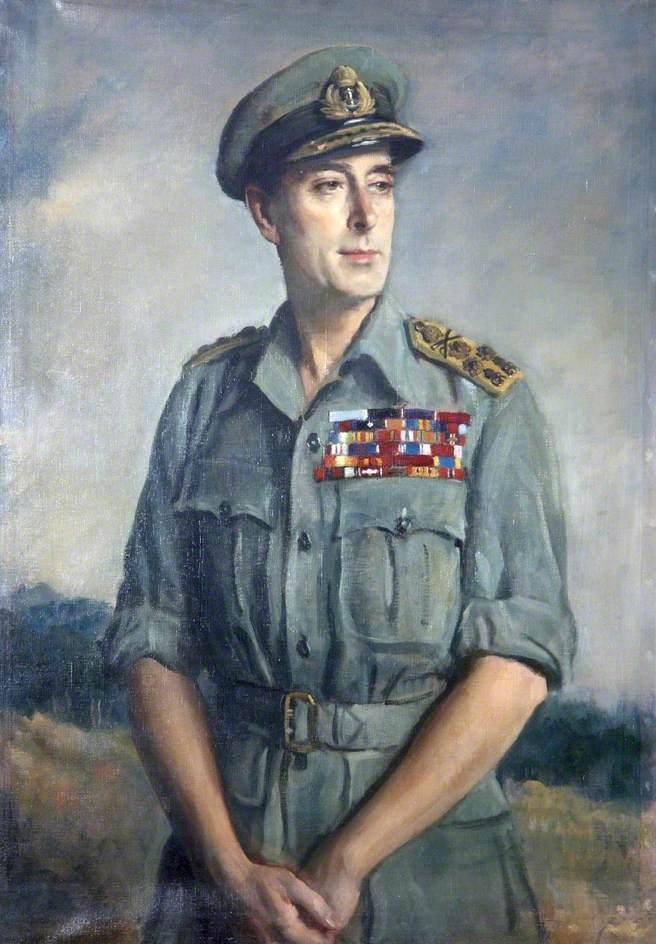 Admiral of the Fleet Earl Viscount Mountbatten of Burma (1900–1979), KC