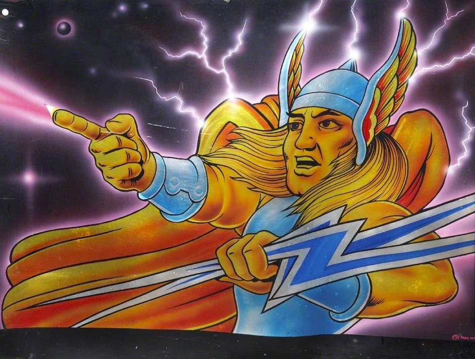Thor Holding Lightning Rods