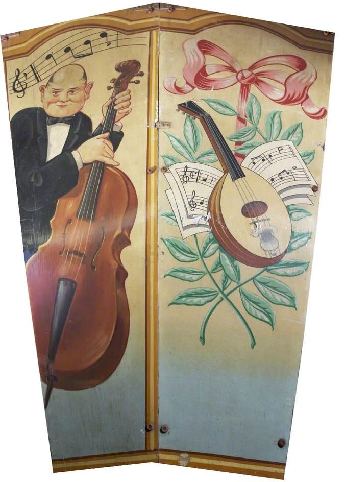 Scott's 'Wonder Waltzers': Cellist and Mandolin