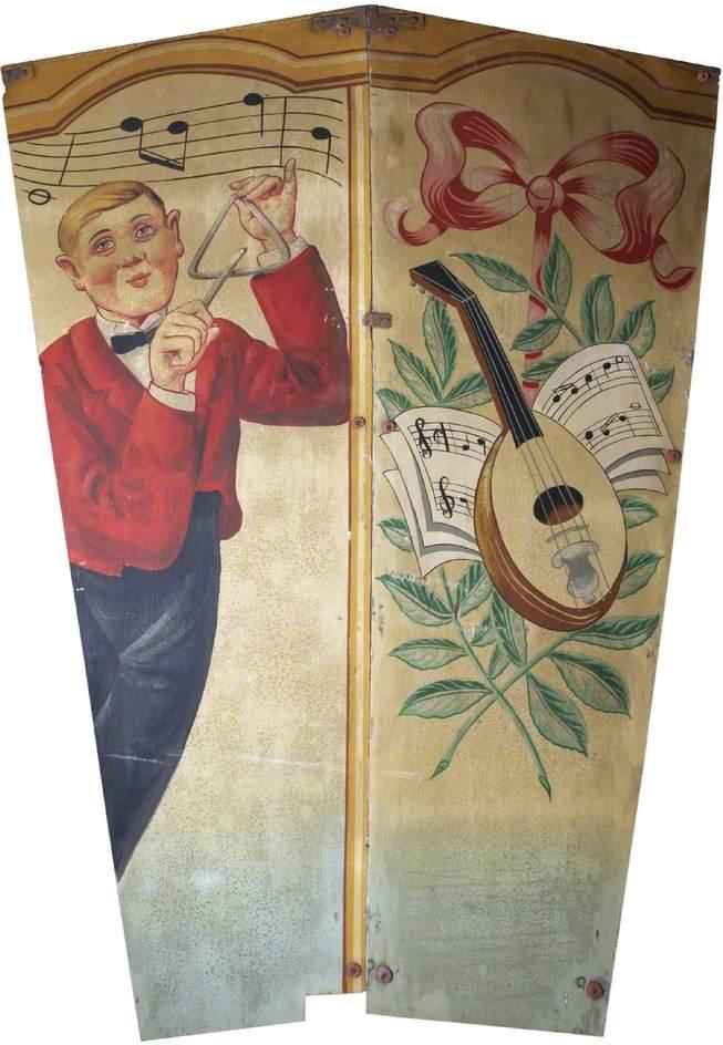 Scott's 'Wonder Waltzers': Triangle Player and Mandolin