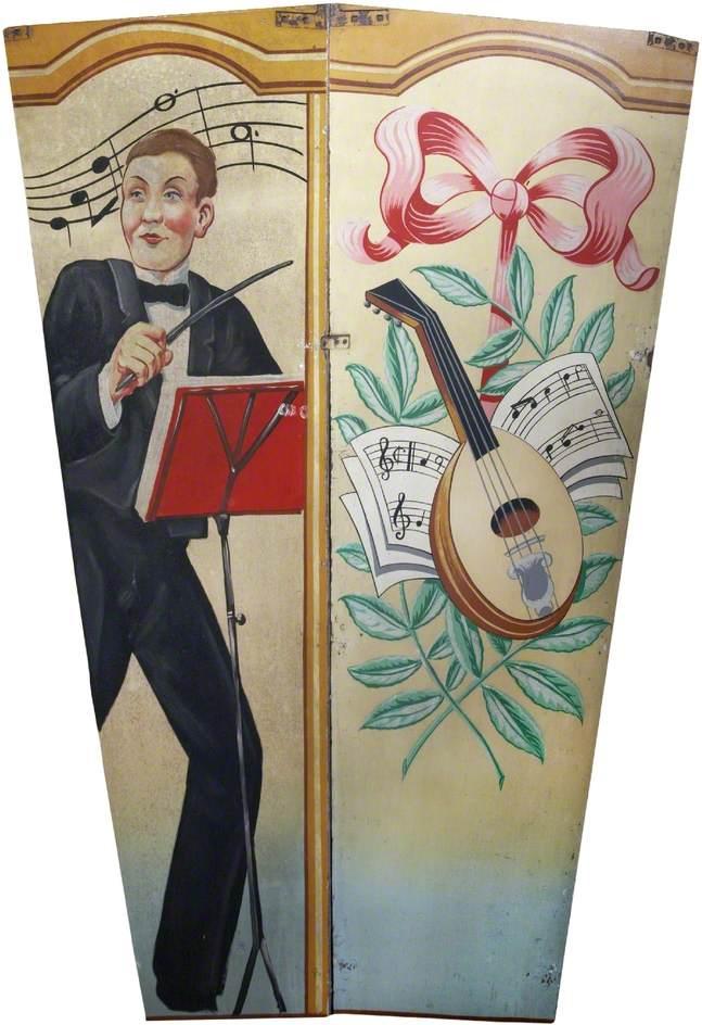 Scott's 'Wonder Waltzers': Conductor and Mandolin