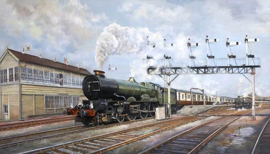 Departure to Plymouth, Devon