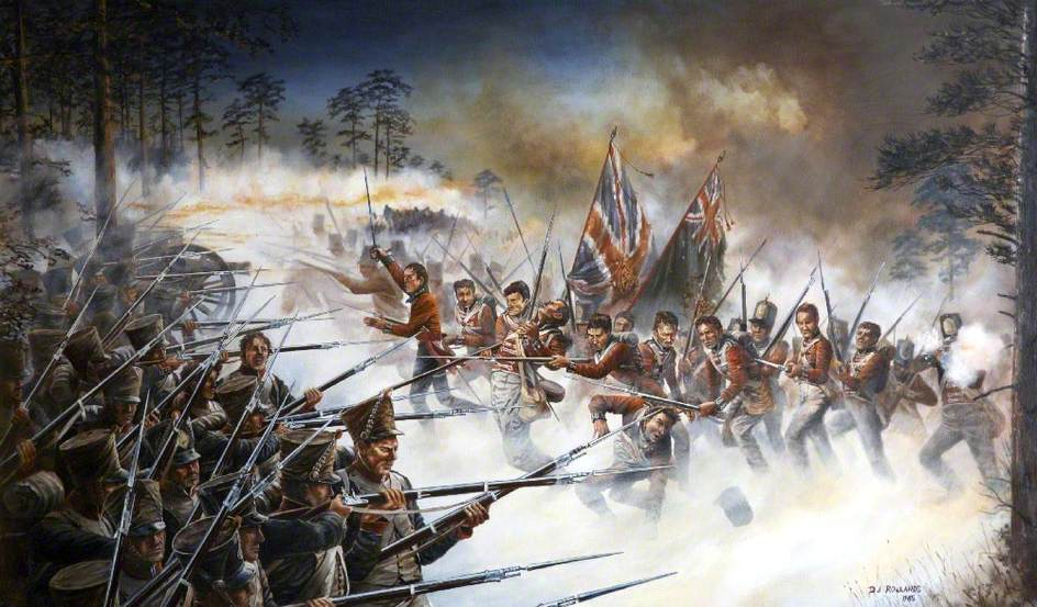 'The Bloody Eleventh', Battle of Salamanca 22 July 1812