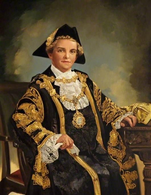 Alderman Mrs B. Bicknell (1910–1990), Mayor of Bournemouth (1960–1961)