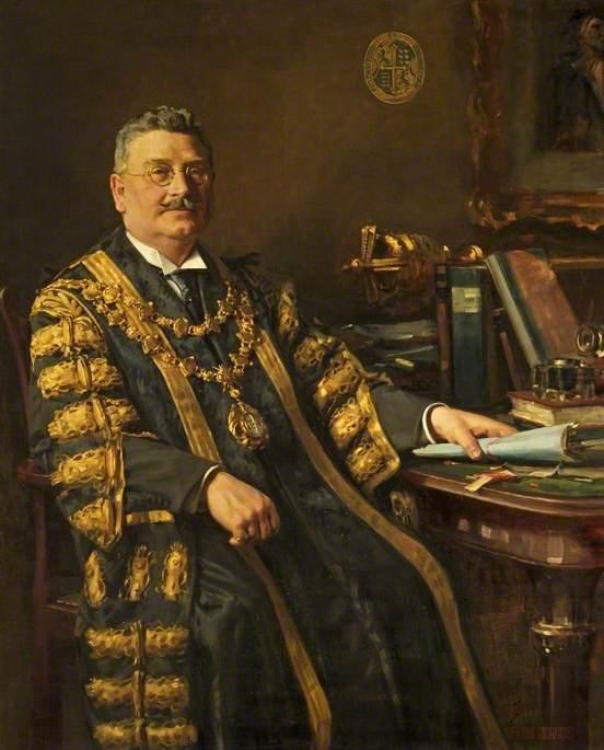 Alderman Harry J. Thwaites (1869–1931), Mayor of Bournemouth (1925–1927)
