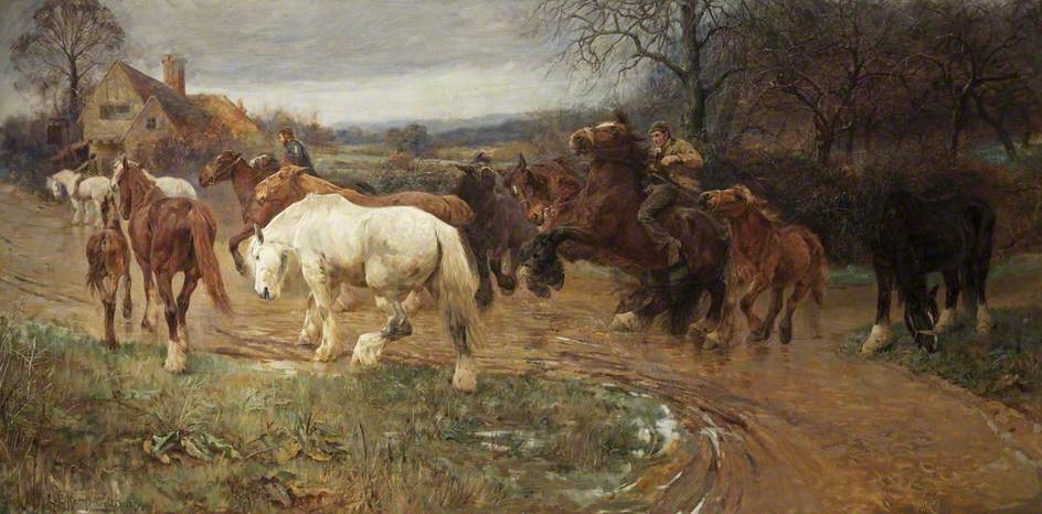 Gypsy Horse Drovers