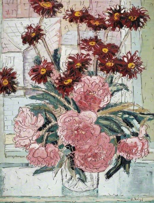 Pyrethrums and Peonies