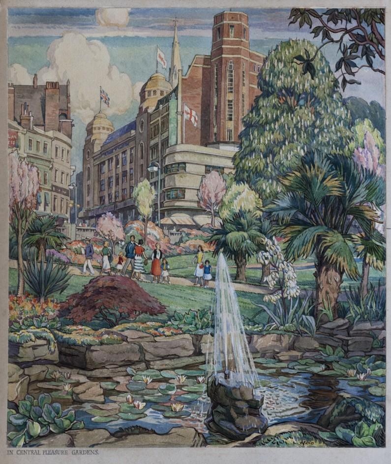 In Central Pleasure Gardens