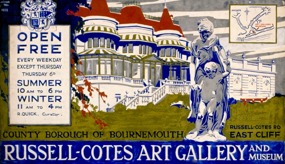 Poster Design for the Russell-Cotes Art Gallery & Museum