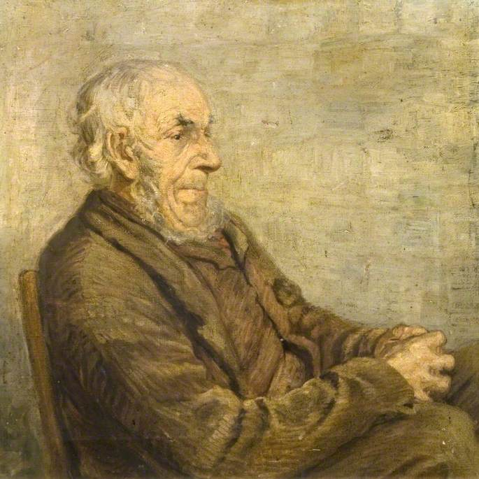 Portrait Study of an Old Man