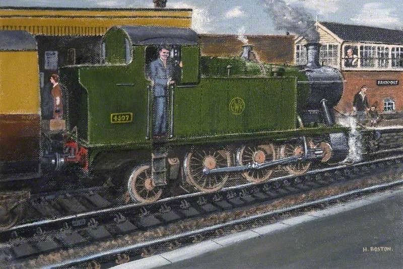 Bridport Station, Dorset