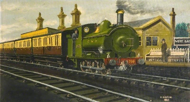 West Bay Station, Dorset
