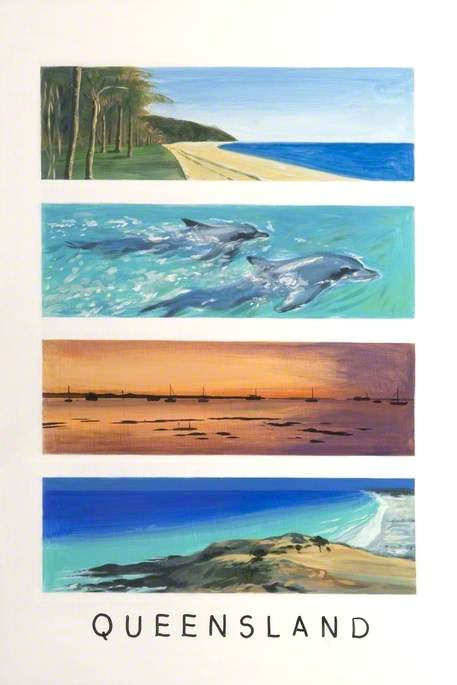 'Dreams of Australia' Series, Queensland