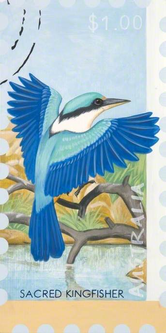'Dreams of Australia' Series, Sacred Kingfisher