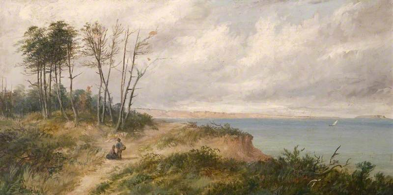 View Towards Hengistbury Head, Dorset