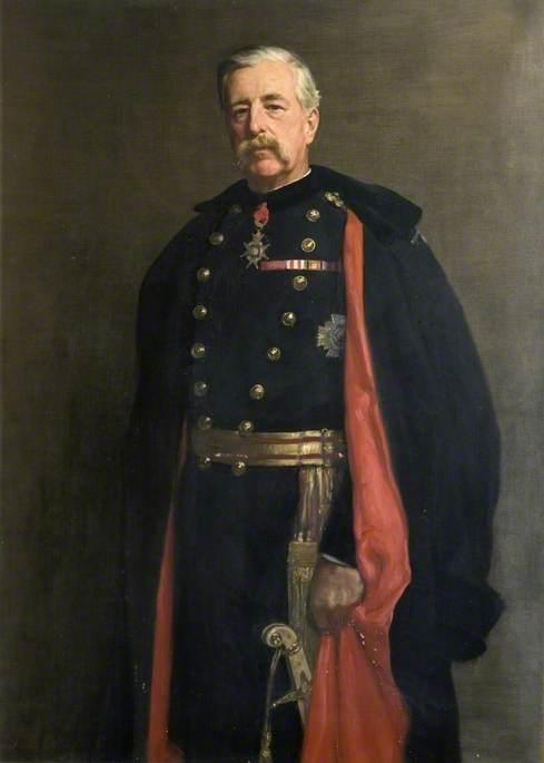 Major General M. W. E. Gossett (1839–1909), CB