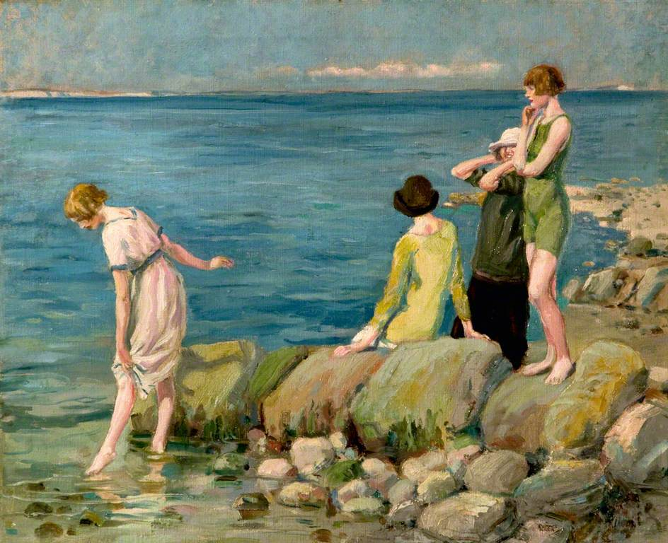 Bathers at Swanage