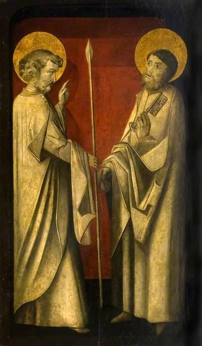 Saint Peter and Saint Thomas