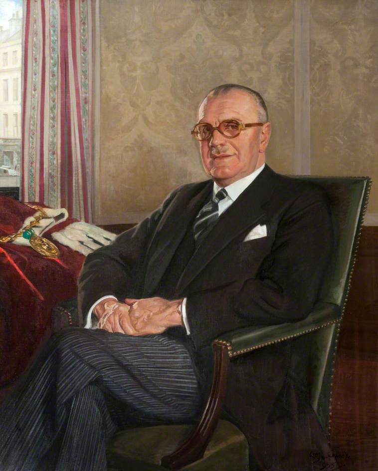 William Black (1891–1959), Lord Provost of Dundee (1952–1954)