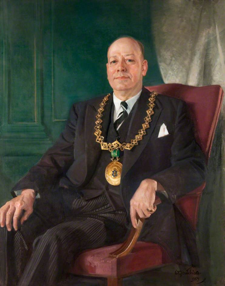 Richard Fenton (1900–1959), Lord Provost of Dundee (1949–1952)
