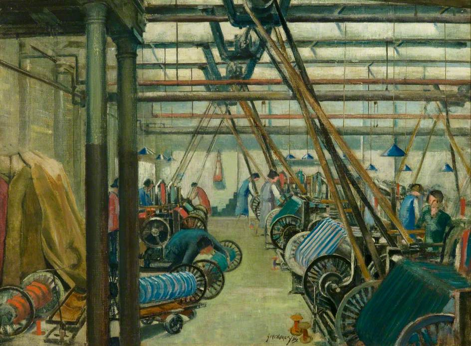 The Weaving Shed, Old Glamis Factory