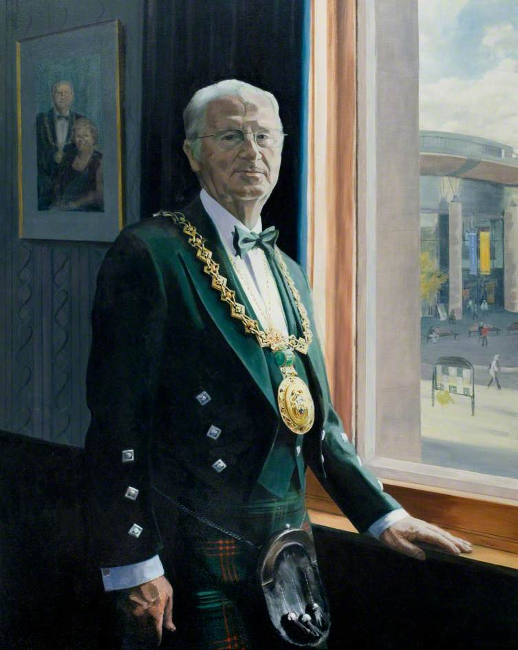 John Letford (b.1935), Lord Provost of Dundee (2001–2012)