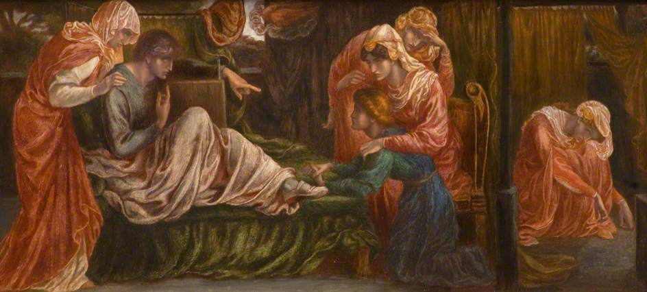 Dante's Dream on the Day of the Death of Beatrice