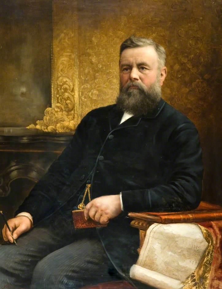 Whaling Captain William Adams Senior (1832–1890)