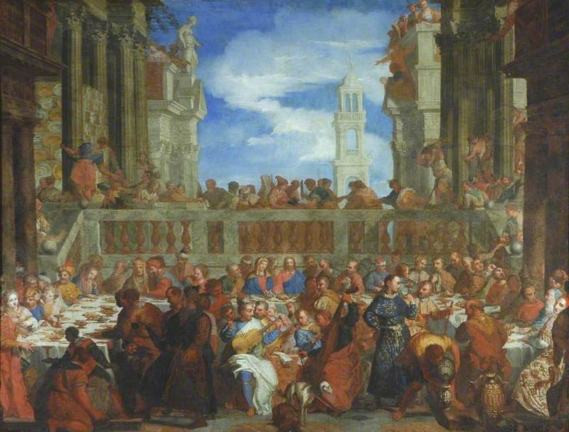 The Wedding Feast at Cana in Galilee