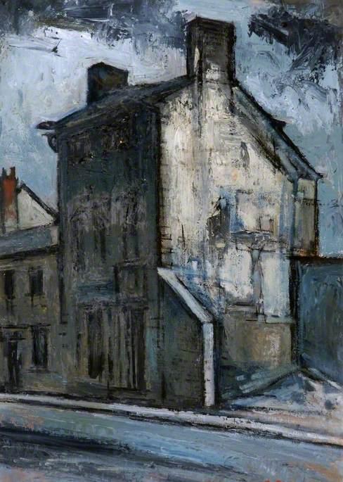 Derelict House, Bridgegate, Barnard Castle, County Durham