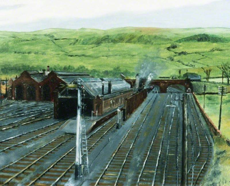 Kirkby Stephen Station, Cumbria (North Eastern Railway)