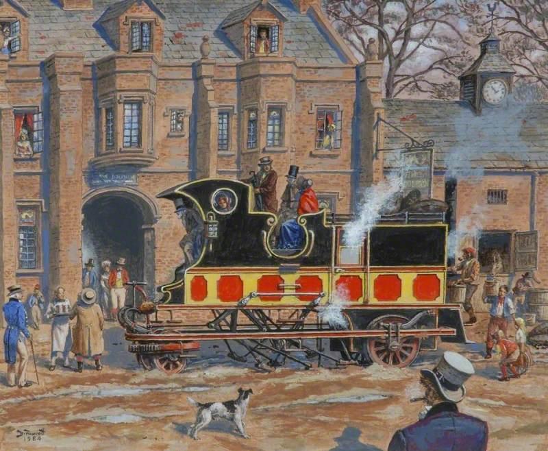 David Gordon's Steam Coach, 1830