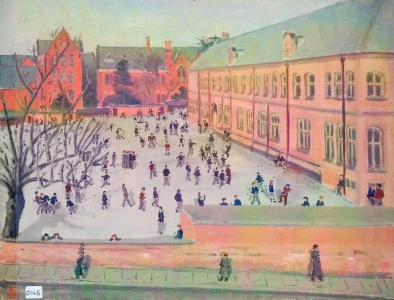 View of the Queen Elizabeth Grammar School