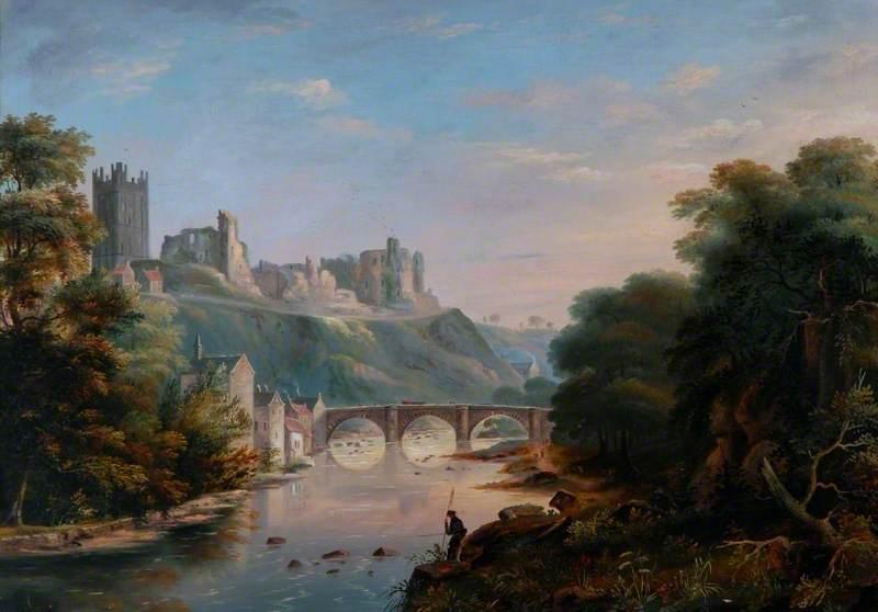 Landscape with Castle and Bridge