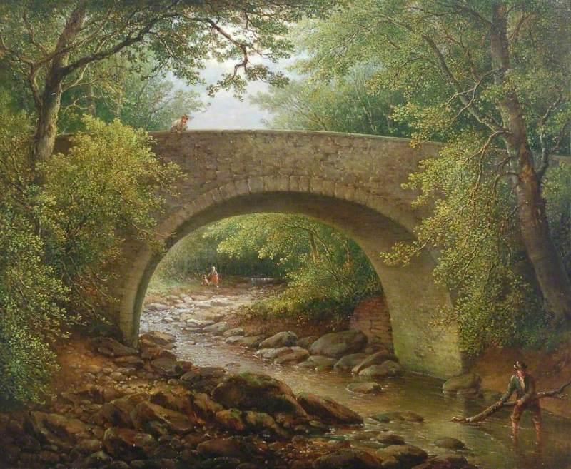 Lynn Burn, near Witton-le-Wear, County Durham