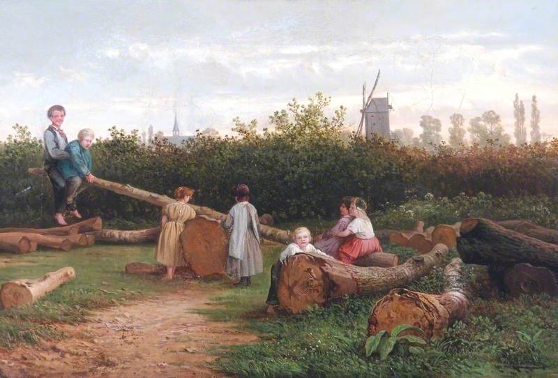 Landscape with Children